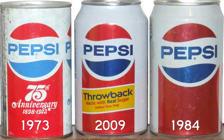 pepsi vs coke throwback cans
