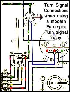 67 Vw Bug Turn Signal Switch Wiring Diagram 1967 VW Beetle Wiring