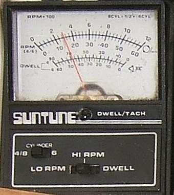 Actron dwell meter hook up