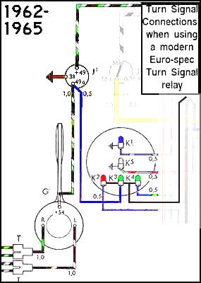 62 65TSmodernRelay thesamba com beetle 1958 1967 view topic 1963 flasher vw turn signal wiring diagram at creativeand.co