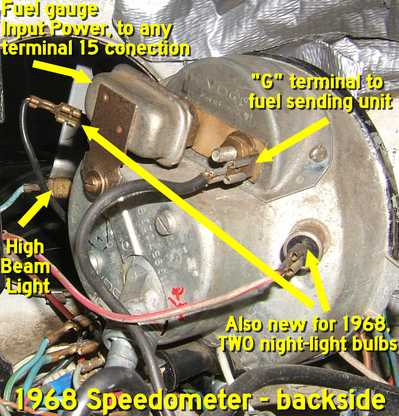 2001 vw beetle ac wiring diagram vw beetle speedometer wiring diagram thesamba.com :: beetle - 1958-1967 - view topic ... #9