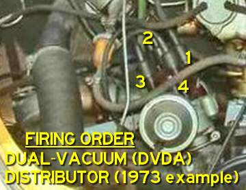 DVDA FiringOrder thesamba com beetle late model super 1968 up view topic vw beetle spark plug wire diagram at alyssarenee.co