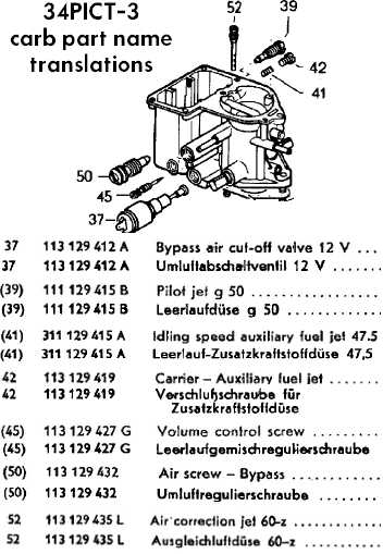 1968 vw beetle air cooled engine parts diagram vw 2 0