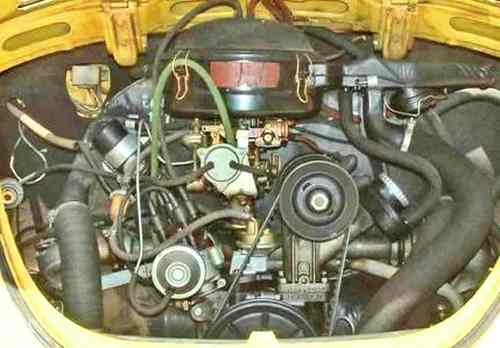 Engine on Vw Beetle Engine Identification Numbers